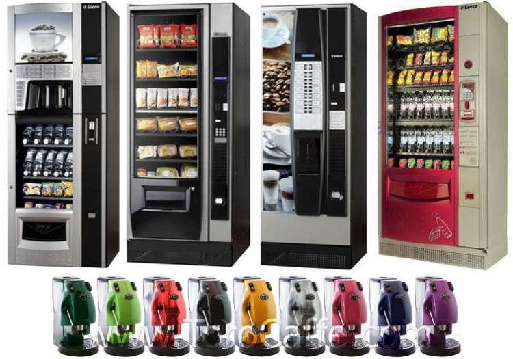 Gestione e Fornitura Distributori Automatici e Macchine da caffè Espresso.